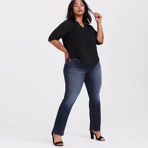 Torrid Relaxed Vintage Stretch Medium Wash Boot Cut Jeans